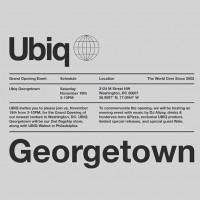 Ubiq Georgetown Opening!